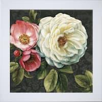 Lisa Audit 'Floral Damask II' Framed Artwork - Multi