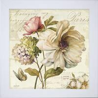 Lisa Audit 'Marche de Fleurs II' Framed Artwork