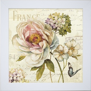 Lisa Audit 'Marche de Fleurs III' Framed Artwork