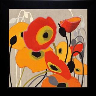 Shirley Novak 'Mango Tango I' Framed Artwork