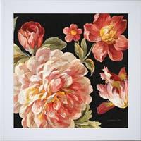 Danhui Nai 'Mixed Floral IV Crop I' Framed Artwork
