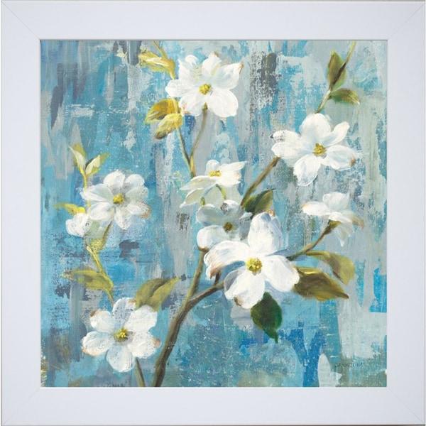 Danhui Nai 'Graceful Magnolia I ' Framed Artwork