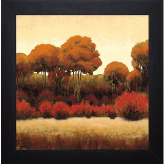 James Wiens 'Autumn Forest II' Framed Artwork