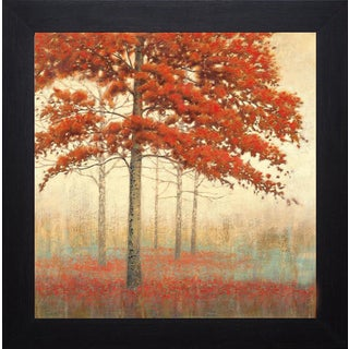 James Wiens 'Autumn Trees II' Framed Artwork