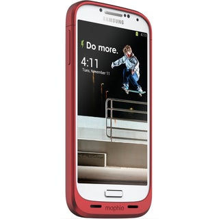 Mophie Juice Pack for Samsung Galaxy S4 (New in Non-Retail Package) (Option: Red)