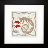 Studio Mousseau 'Pacific Nautilus' Framed Artwork