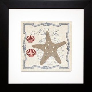 Studio Mousseau 'Pacific Starfish ' Framed Artwork