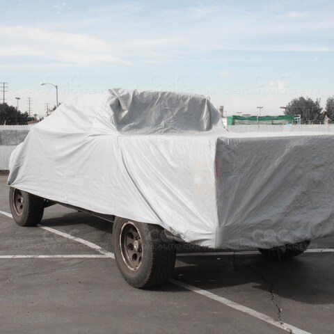BDK Truck Cover Outdoor Indoor No-Scratch Lining Pickups for Full Size Crew Cab