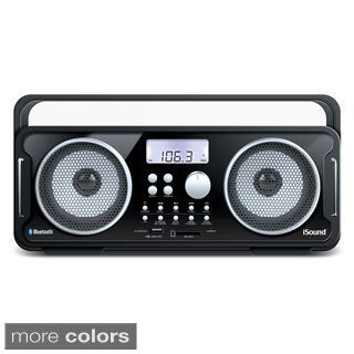 iSound BT-4000 Rechargeable Wireless Boombox