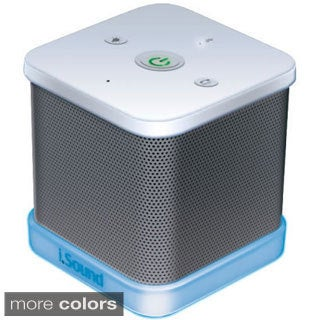 iGlowSound Cube Bluetooth Glowing Wireless Speaker
