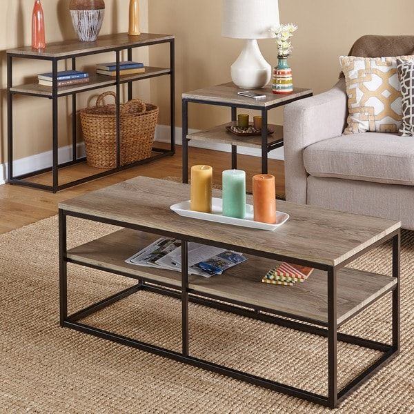 Simple Living Piazza Coffee Table   Free Shipping Today   Overstock.com    16949287