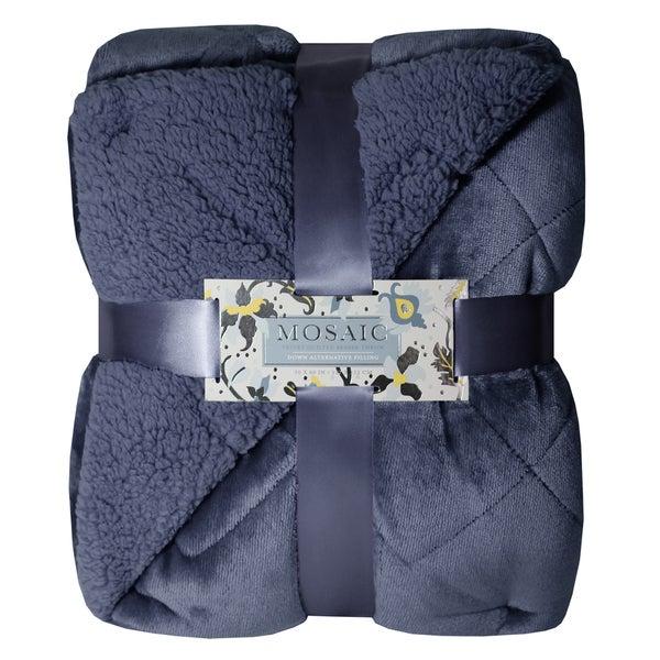 Etoile Velvet Blanket Etoile Baby Blanket Jacquard Weave