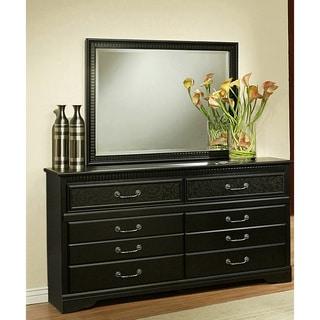 Sandberg Furniture Granada 6-drawer Dresser and Mirror