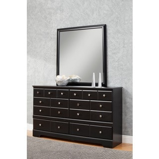Sandberg Furniture Elena 6-drawer Dresser and Mirror