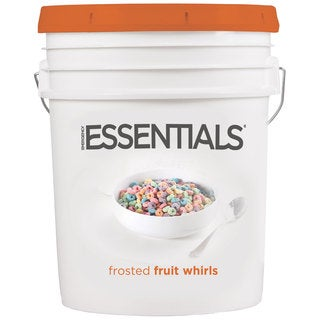 Emergency Essentials Sugar Frosted Fruit Whirls Super Pail