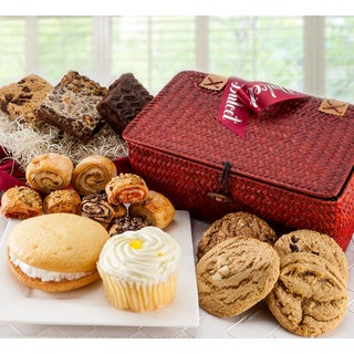Dulcet All Sweets and Treats Gourmet Pastry and Snacks Gift Basket