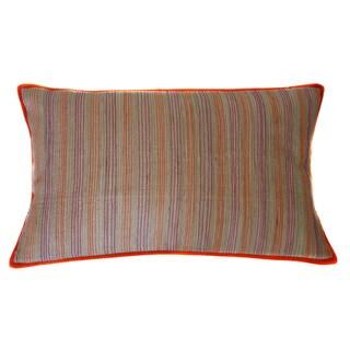 Jiti Desi Stripe Linen Long Decorative Pillow