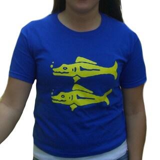 Women's Blue Barracudas Team T-shirt