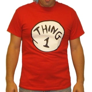 Red 'Thing 1' T-shirt