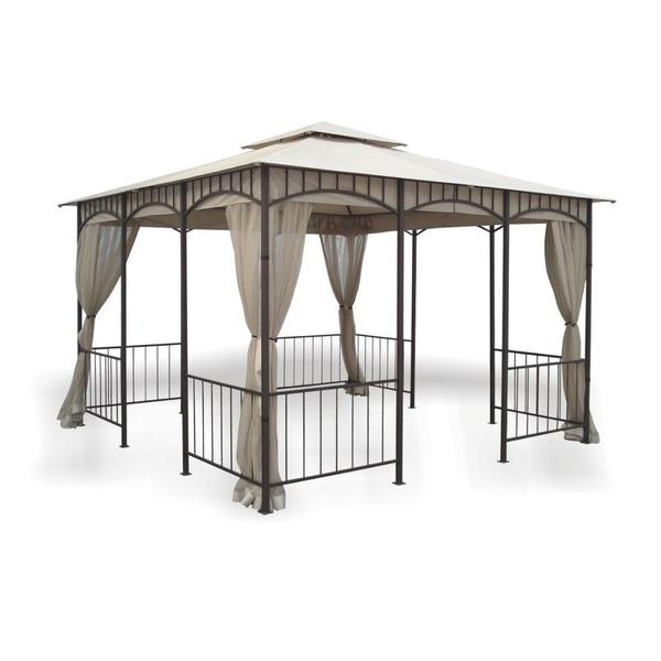 11 5 X 11 5 Savannah Gazebo With Insect Screen And 2
