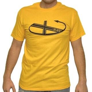 Team X Bladz Yellow Cotton T-shirt