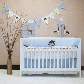 Pam Grace Creations Maddox Monkey 10-piece Bedding Set