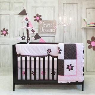 Pam Grace Creations Pam's Petals 10-piece Bedding Set