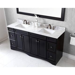 Double Sink Vanity 72 Inch. Virtu USA Talisa 72 inch Carrara White Marble Double Sink Vanity Over 70 Inches Bathroom Vanities  Cabinets For Less