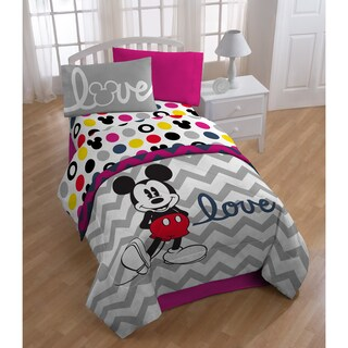 Mickey Chevron Bed in a Bag with Pillow Buddy (2 options available)