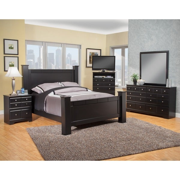 Sandberg Furniture Elena Bedroom Set Free Shipping Today 16949518