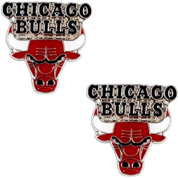 NBA Team Logo Post Stud Charm Earring Set
