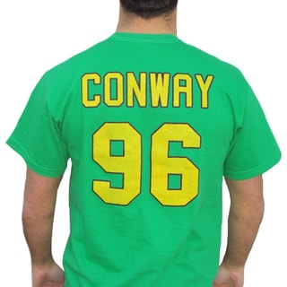 Ducks Charlie Conway 96 Jersey Green Cotton T-shirt