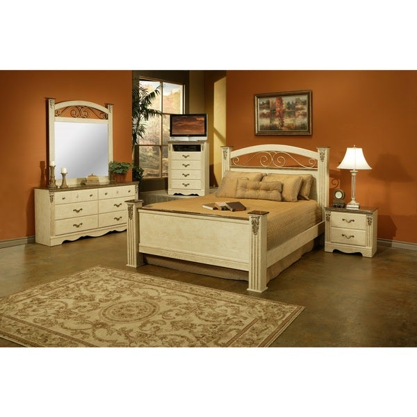 Shop Sandberg Furniture Venetian Bedroom Set