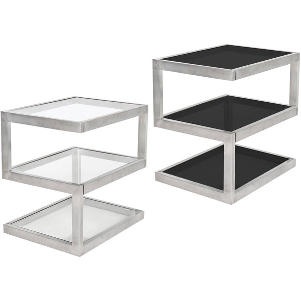 5S Stainless Steel Modern End Table
