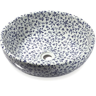 Legion Furniture Sink Bowl Floral Print