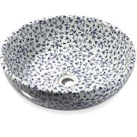 Legion Furniture Sink Bowl Floral Print