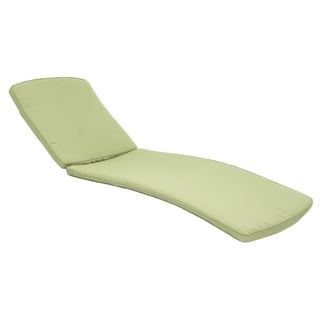 Wicker Chaise Lounger Cushions (Set of 2)