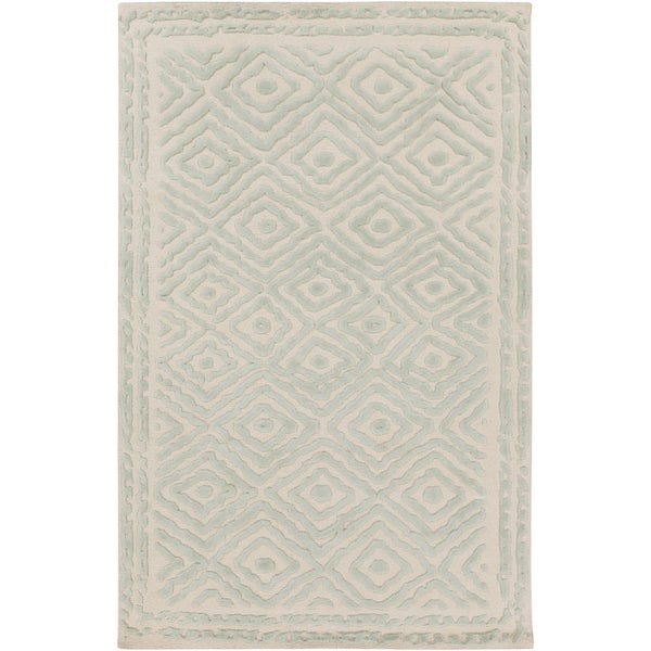 Hand-Knotted Katrine Indoor Wool Area Rug - 8' x 11'