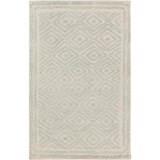 Hand-Knotted Katrine Indoor Wool Rug (8' x 11')