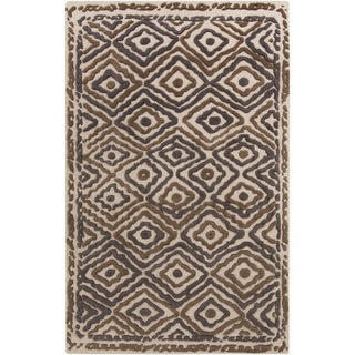 Hand-Knotted Kathryn Indoor Wool Rug (8' x 11')