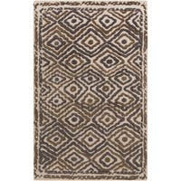Hand-Knotted Kathryn Indoor Wool Area Rug (5' x 8')