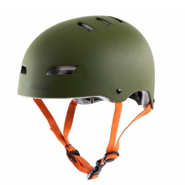 Kryptonics Step Up Hunter Green Helmet