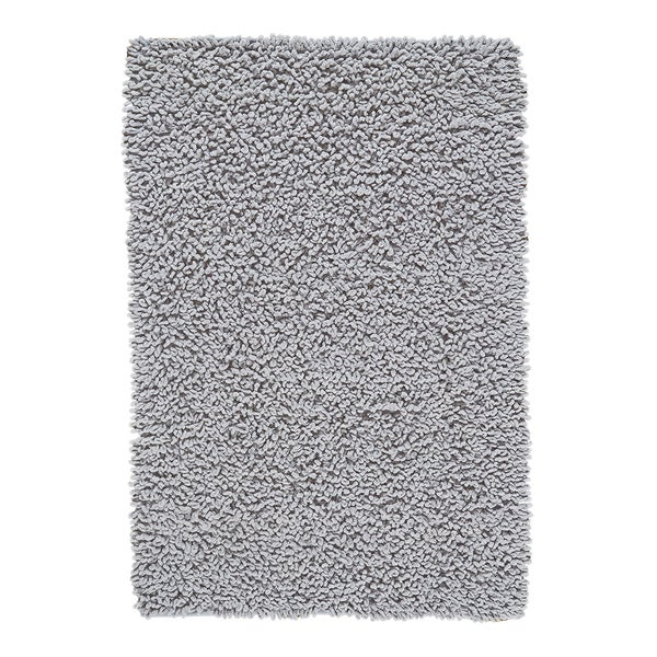 Shop Grand Bazaar Chenille Big Loop Grey Area Rug
