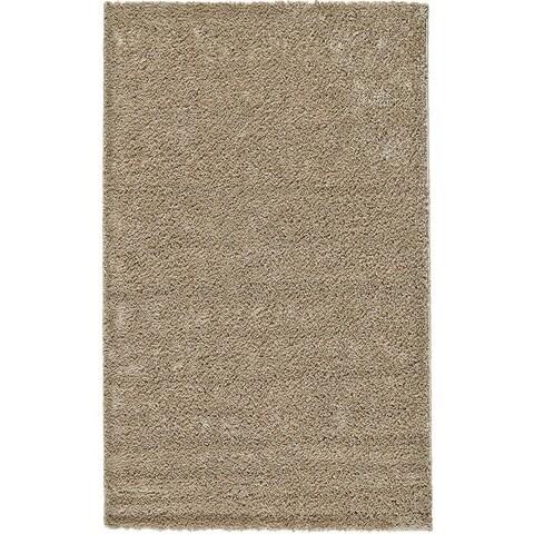 Grand Bazaar Everyday Shag Rug in Linen, (5' x 8') - 5' x 8'
