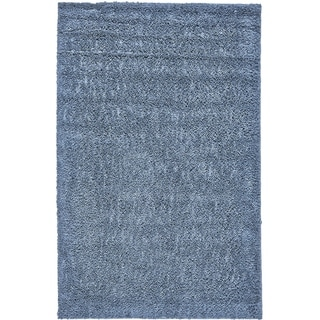 Grand Bazaar Everyday Shag Rug in Teal, (5' x 8')