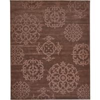 Grand Bazaar Hand Tufted Wool Mocha Rug 7'6 x 9'6