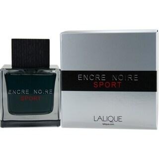 Lalique Encre Noir Sport Men's 3.3-ounce Eau de Toilette Spray
