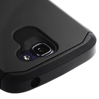 INSTEN Soft Silicone Hybrid Hard Plastic Rubberized Matte Phone Case Cover For Alcatel One Touch Fierce 2 7040T