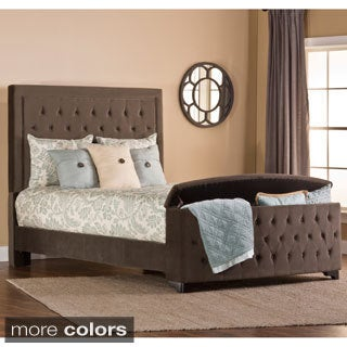 Kaylie Bed Set with Storage Footboard