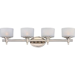 Maxim Lola Nickel 4-light Bath Vanity